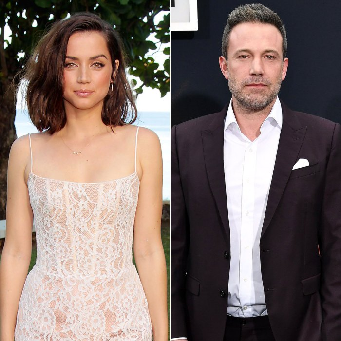 Ana de Armas Seemingly Shuts Down Speculation That She and Ben Affleck Are Back Together Feature