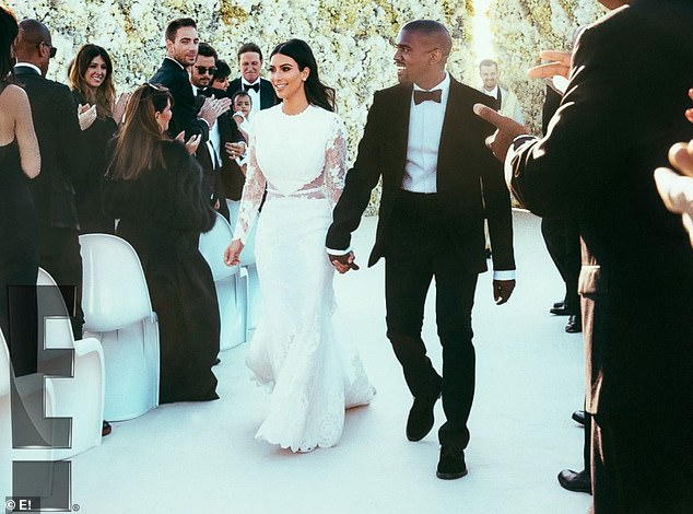 This happened seven years ago:This comes just one week before her seventh wedding anniversary to estranged husband Kanye West, 43
