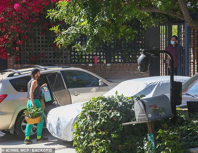 Safety:Sources close to the situation told TMZ that Ryan is walking Gaga's dogs again but 'during the day now'