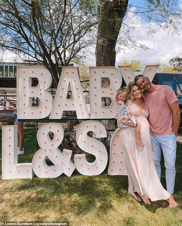 Babies make five! The proud parents are currently expecting twins