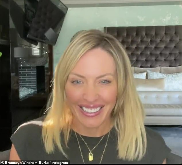 Personal milestone: Braunwyn Windham-Burke, 43, revealed she just celebrated 500 days sober in an Instagram post on Saturday, June 12