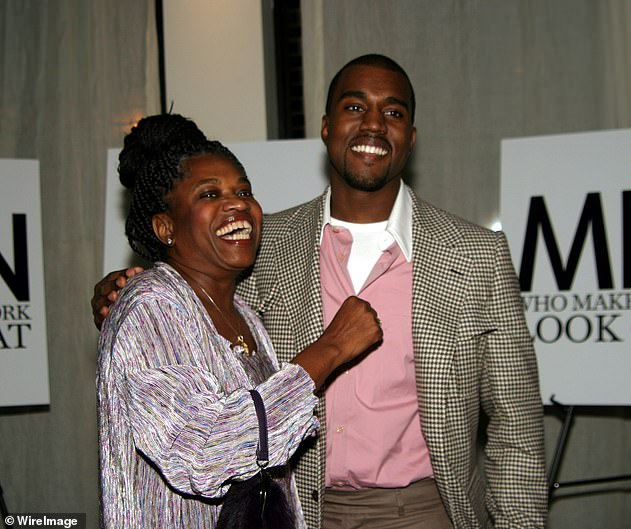 Dedication: The album's name is a reference rapper's late mother Donda West (pictured), who passed away in 2007 at the age of 58 due to complications caused by a cosmetic procedure