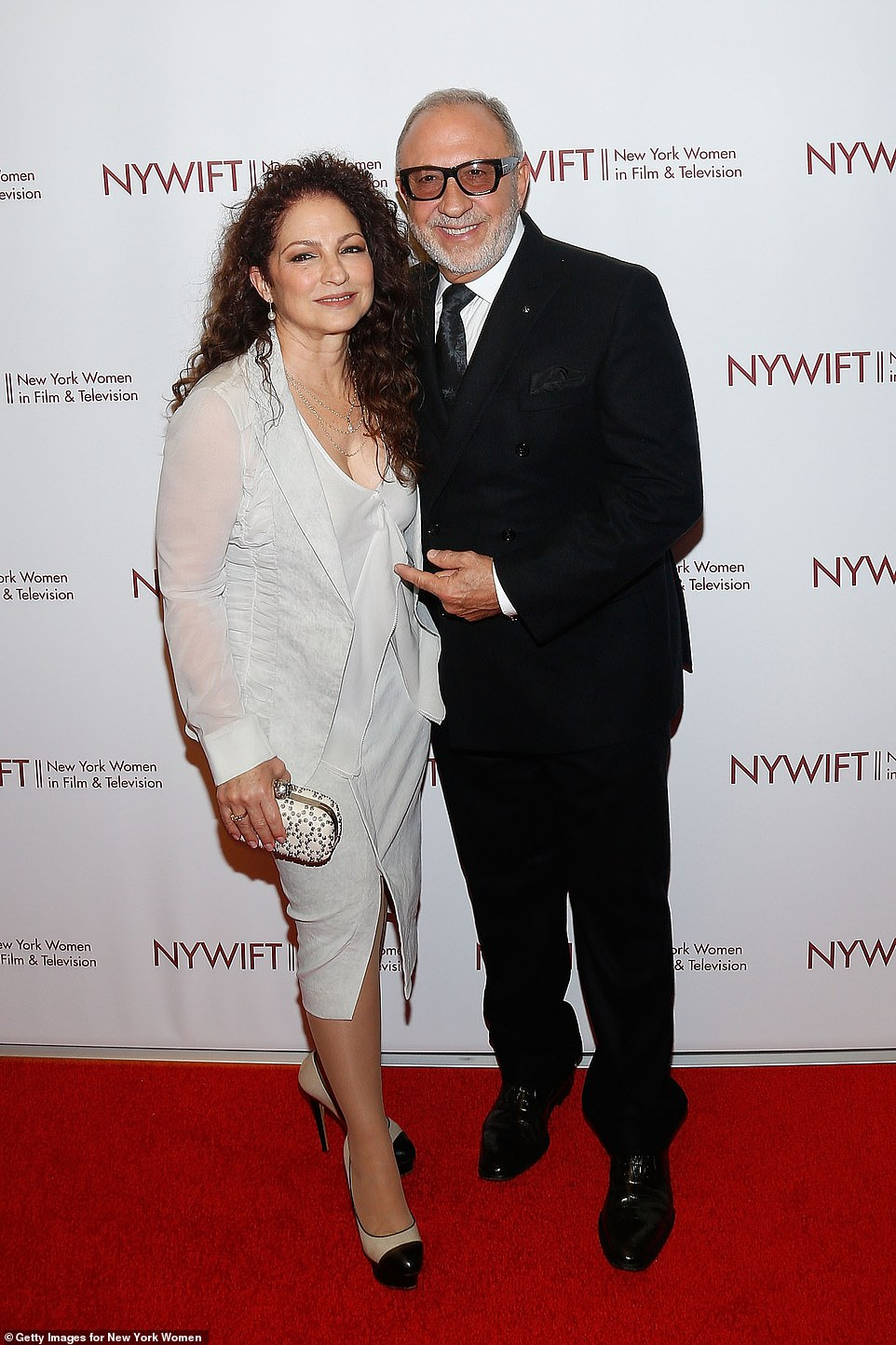 Profit:The home, located in the exclusive Star Island neighborhood in Miami, features six bedrooms, 10 baths and is spread over 7,988 square feet; Gloria and Emilio Estefan pictured in 2019 in NYC