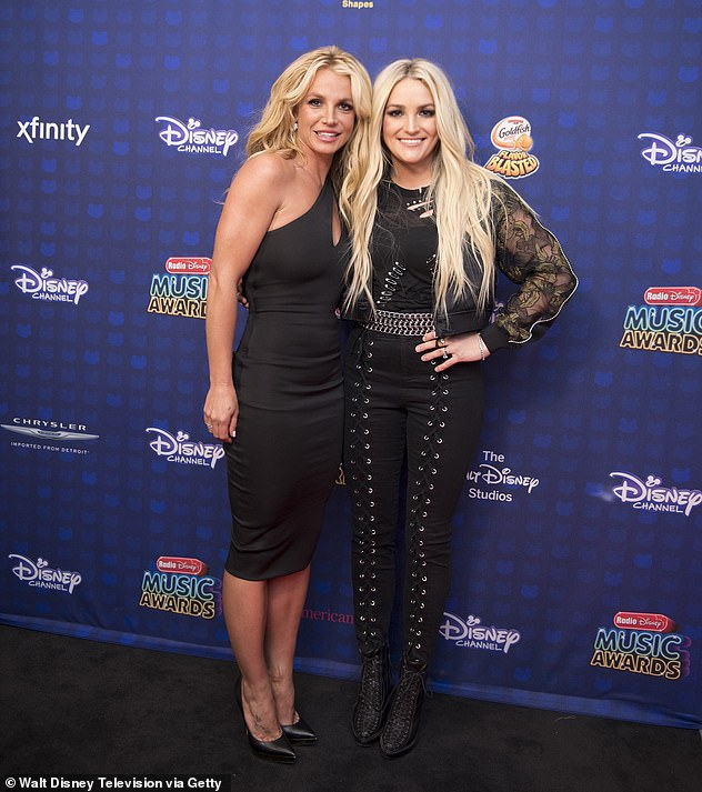 Jamie Lynn Spears' $1M property in Florida was paid for by Britney Spears, despite claiming she has never taken a penny from her sister, it has been claimed; Britney and Jamie Lynn pictured in 2017