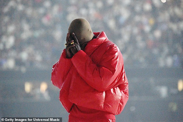 Same old story: Kanye West, 44, has reportedly delayed the release of his 10th studio album Donda to August 6. He previously announced it would be released on Friday; seen Thursday in Atlanta