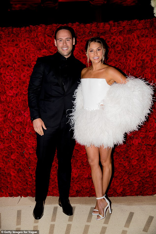 It's over!Scooter Braun has officially filed for divorce from wife of seven years Yael Cohen Braun. They're seen in 2018 above