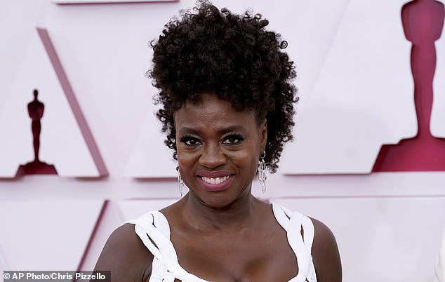 HarperOne in partnership with Ebony Magazine Publishing announced Tuesday that they'll put out Viola Davis' $28.99, 288-page memoir Finding Me on April 19, 2022 (pictured April 25)