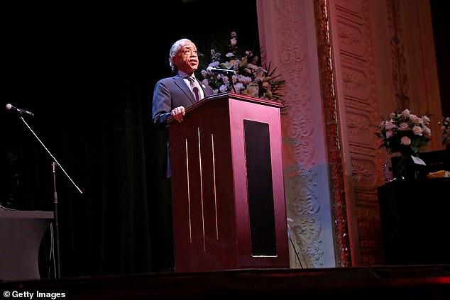 Rev. Sharpton delivered the eulogy for the beloved musical artist