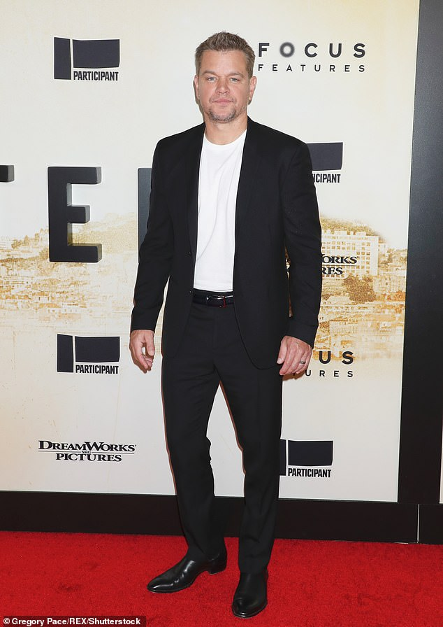 Gay slur:While promoting his new movie Stillwater, Matt Damon made headlines when he admitted in an interview with The Sunday Times that he only stopped using the gay slur f****t a few months ago