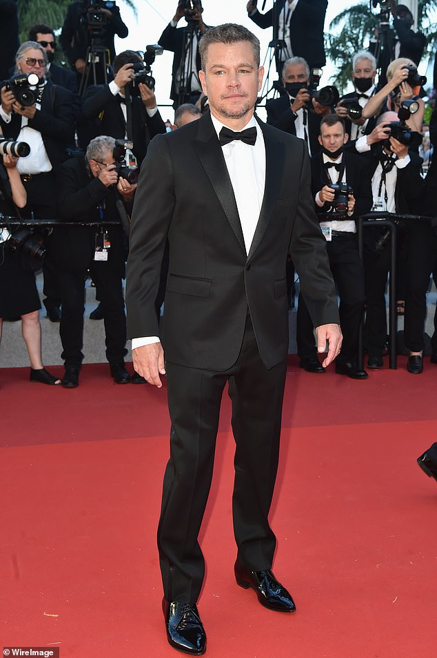 The latest:Matt Damon is 'sad' about Hollywood's reliance on superhero movies; pictured July 8 at the Cannes Film Festival in Cannes, France