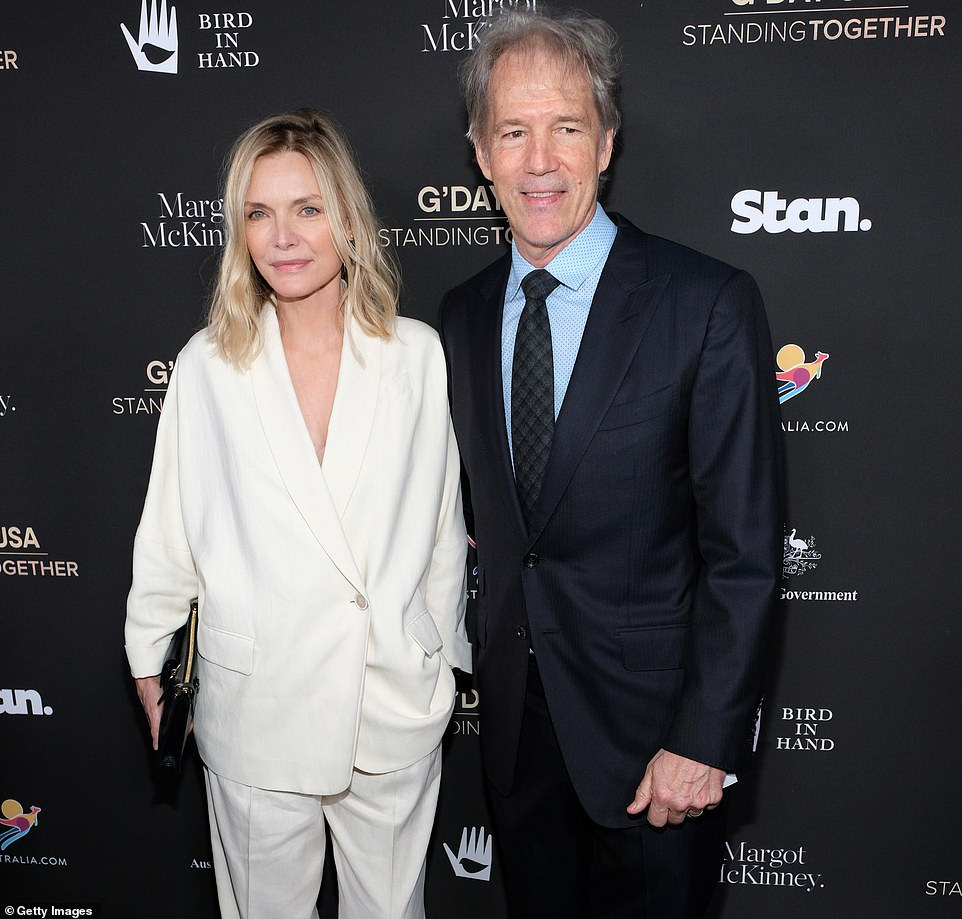 Hot deal!Michelle Pfeiffer and her producer/writer husband David E. Kelley were able to sell their Pacific Palisades property within a week of being listed. The couple are seen in 2020 above