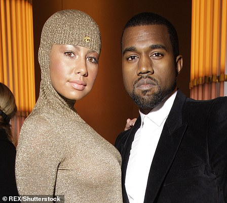 Kanye and Amber also part ways in July of that year