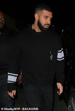 Rivalry: Rundgren claimed that West's hurried approach to Donda stemmed from fear over his rap rival Drake (pictured) 'one-upping him' with the release of Certified Lover Boy in September