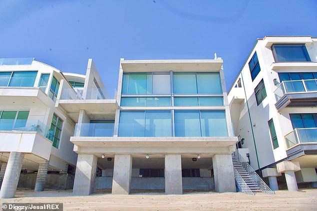 Bachelor pad:Last month, the Grammy Award winner bought a $57 million Malibu mega-mansion