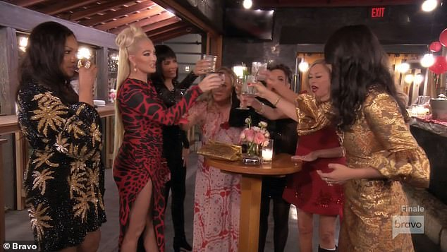 Price of fame: A New York Times expose revealed that Erika's salary for season 11 was $600,000 and TMZ reported that production on Season 12 would be kicking off this week as producers wanted to 'take advantage' of the hot button storyline