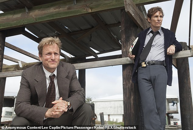Hit show: Woody Harrelson and Matthew McConaughey starred in the HBO series