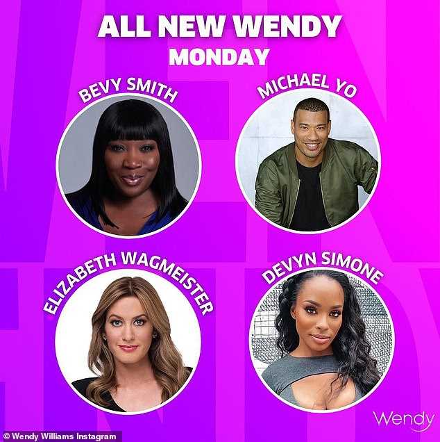 Celeb gossip: Panelists Bevy Smith, Michael Yo, Elizabeth Wagmeister, and Devyn Simone will be breaking down Monday's Hot Topics