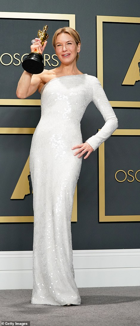 Controversial: The acclaimed actress was wearing a 'fat suit' to get into character; seen in 2020