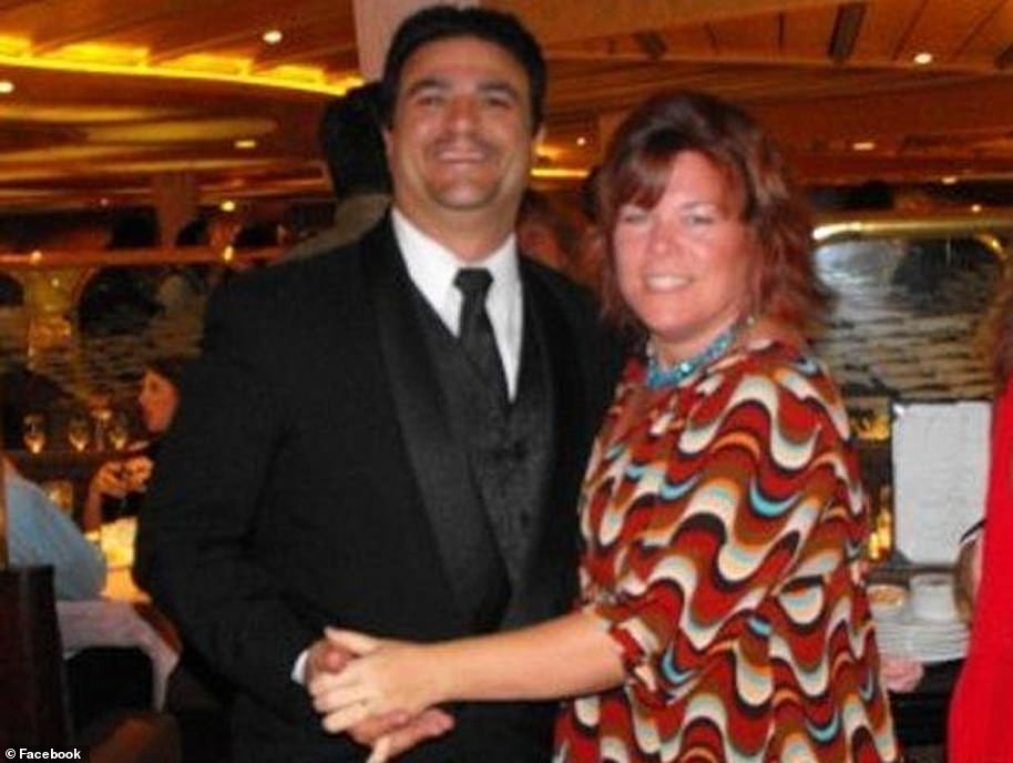 Elizabeth 'Betsy' Faria and husband Russell Faria. Russell was wrongly convicted of his wife's murder in 2013