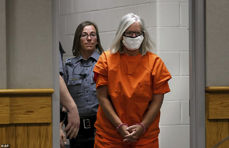 Convicted killer Pam Hupp appeared in court in Lincoln County, Missouri, Tuesday morning for the 2011 murder of her friend Elizabeth 'Betsy' Faria