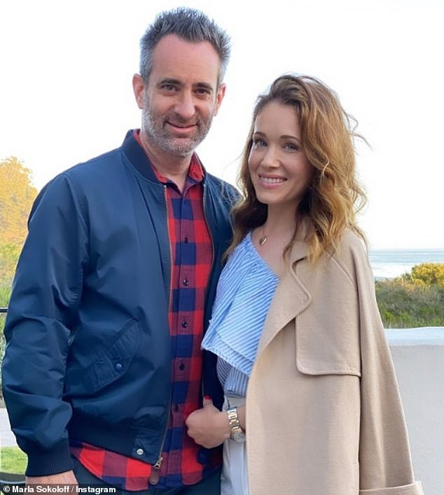 'Our sweet surprise little lady coming early 2022': Marla Sokoloff announced she is expecting her third child, a baby girl